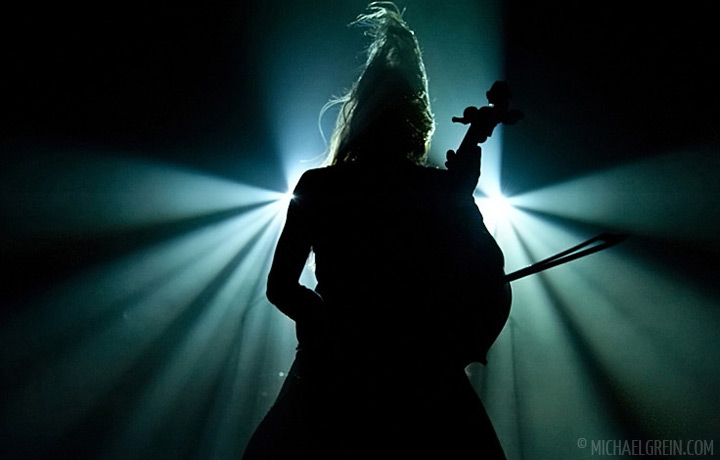 See full photo gallery of Apocalyptica playing live at HUgenottenhalle 2011