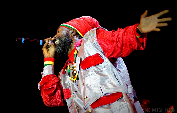 See full photo gallery of Capleton playing on the Red Stage at Summerjam Festival