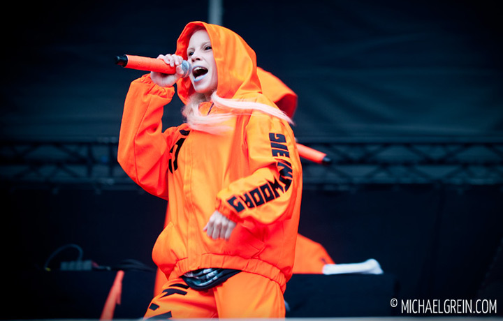 See full photo gallery of  Die Antwoord playing live at Hurricane Festival  2012