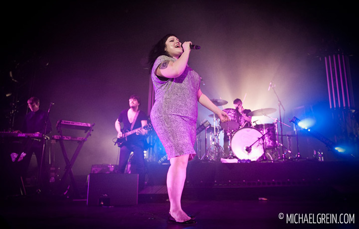 See full photo gallery of Gossip live at Jahrhunderthalle Frankfurt 2012
