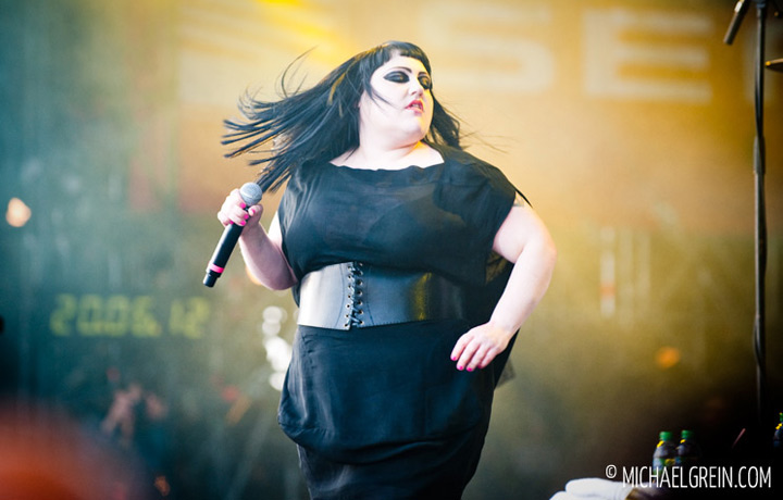 See full photo gallery of Gossip playing live at Rock am Ring  2012