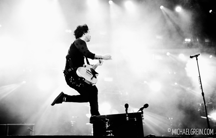 See full photo gallery of Green Day live at Rock im Park 2013