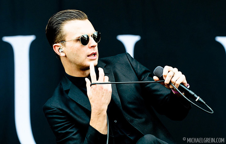 See full photo gallery of Hurts playing live at Pinkpop Festival 2011