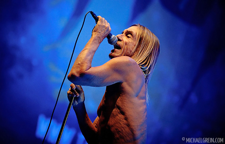 See full photo gallery of Iggy & The Stooges live at Taubertal Festival 2011