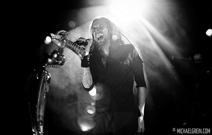 See full photo gallery of Korn playing live at Stadthalle Offenbach 2012