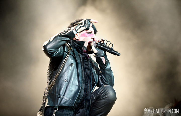 See full photo gallery of Marilyn Manson playing live at Rock am Ring  2012
