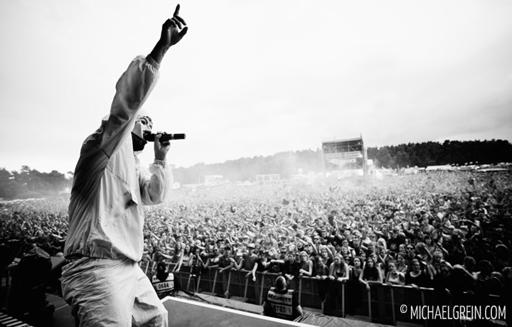 See full photo gallery of Marteria / Marsimoto live at Hurricane Festival 2013