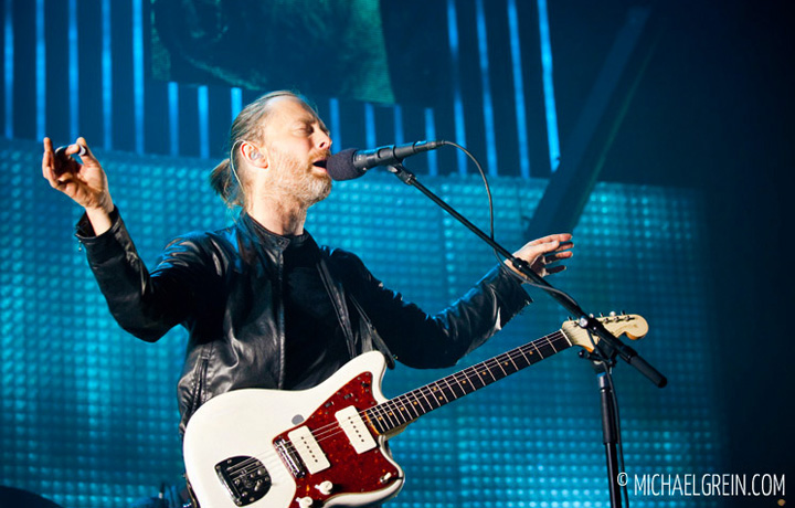 See full photo gallery of  Radiohead live at LANXESS arena in Cologne 2012
