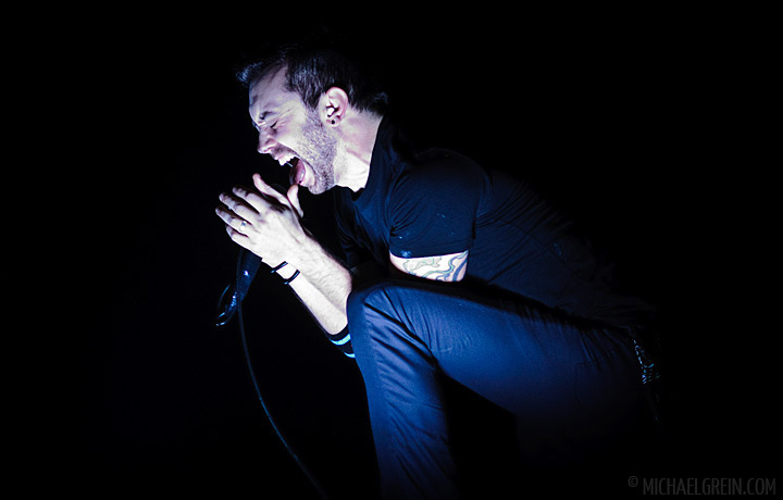See full photo gallery of Rise Against playing live at Phönixhalle Mainz 2011