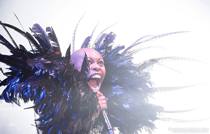 See full photo gallery of Skunk Anansie playing live at Live Music Hall 2011