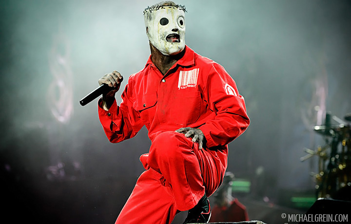See full photo gallery of Slipknot playing live at Sonisphere Fance  2011