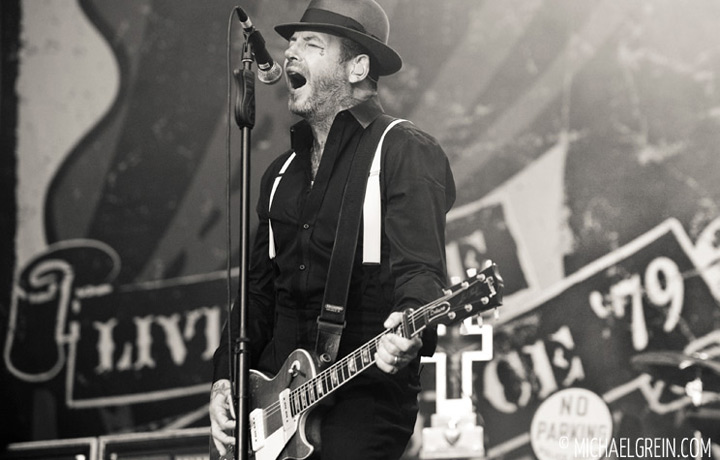 See full photo gallery of Social Distortion playing live at Taubertal Festival 2012