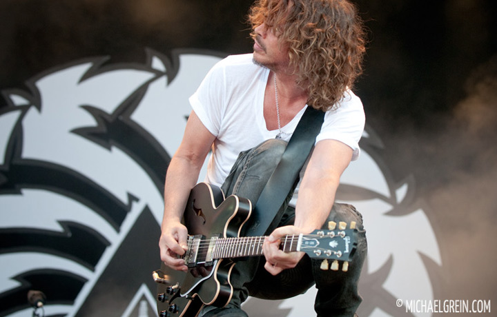 See full photo gallery of Soundgarden playing live at Pinkpop Festival 2012