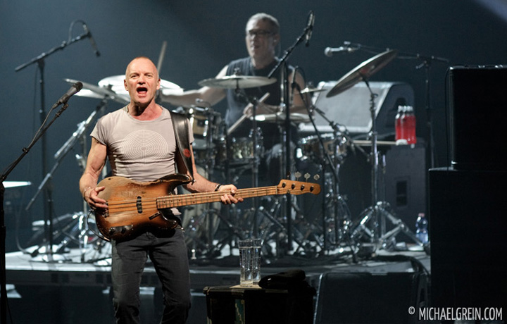 See full photo gallery of Sting playing live at Jahrhunderthalle Frankfurt 2012