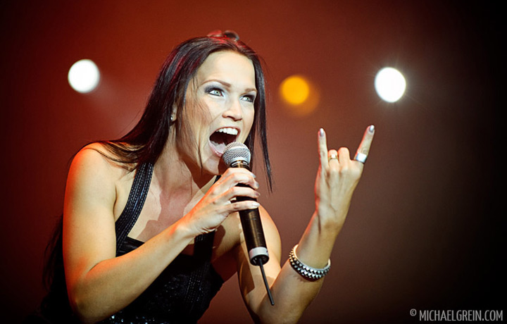 See full photo gallery of Tarja Turunen playing live at Sonisphere Fance 2011
