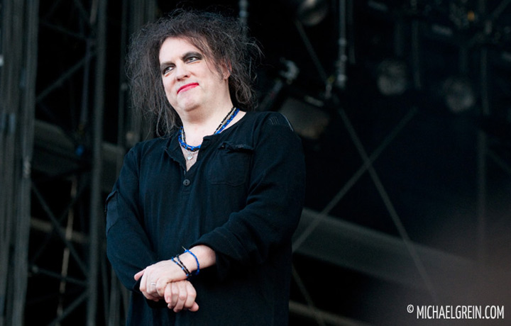 See full photo gallery of The Cure playing live at Pinkpop Festival 2012