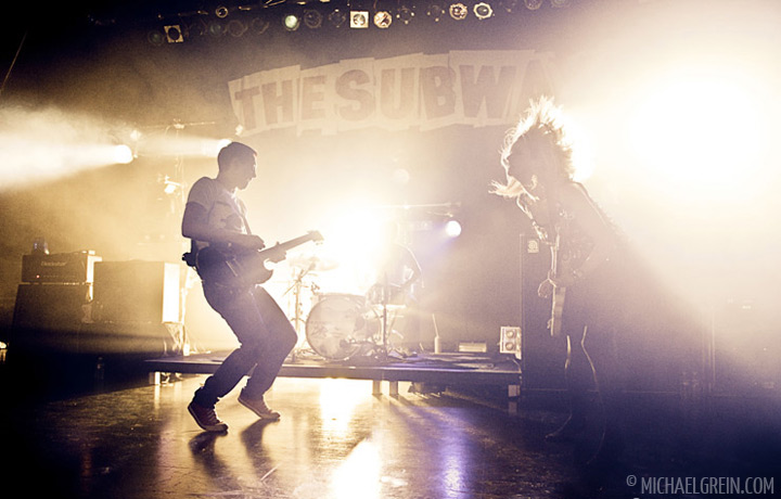 See full photo gallery of The Subways playing live at Capitol Offenbach 2011