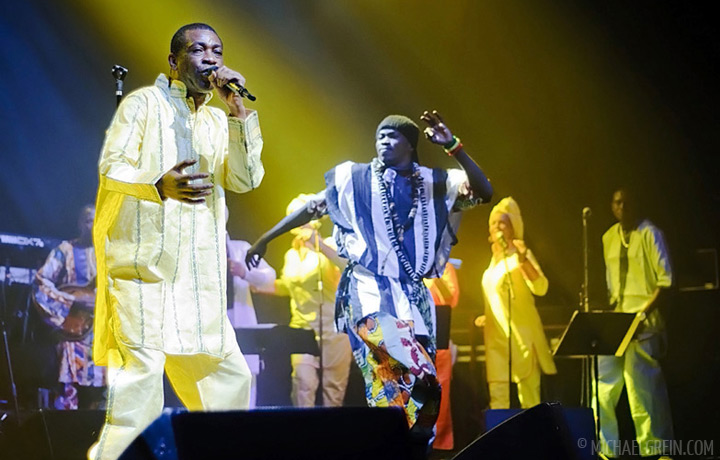 See full photo gallery of Youssou n'Dour playing at Olympia in Paris